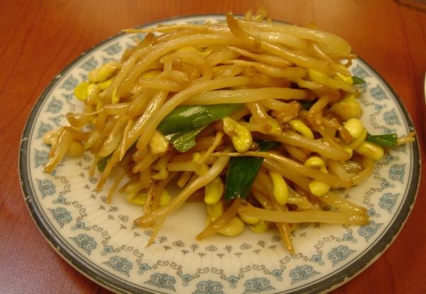 小菜:豆芽