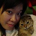 COLA與媽咪的自拍照