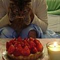 吹蠟燭許願囉!