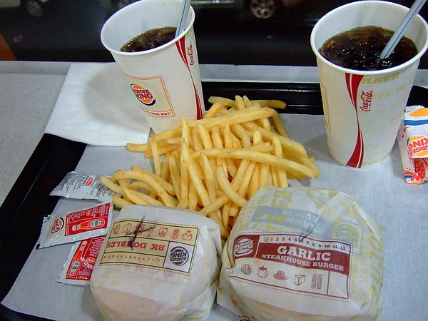 韓國漢堡王。