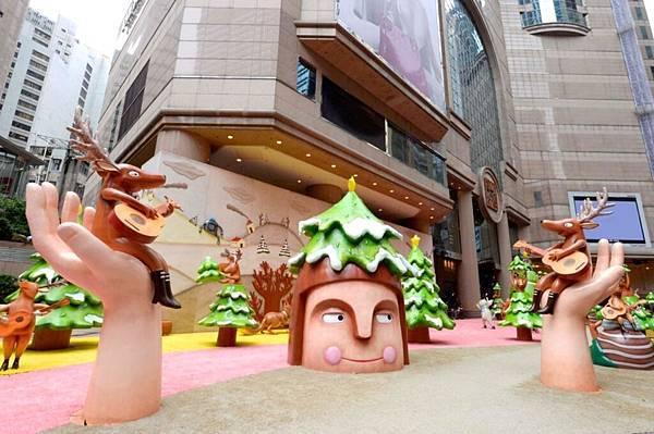 時代廣場趣怪聖誕