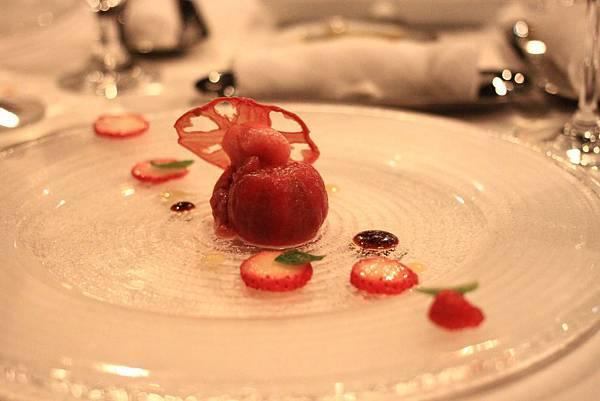 星野Risonare小濱島_Deep Blue義式餐廳_草莓番茄02
