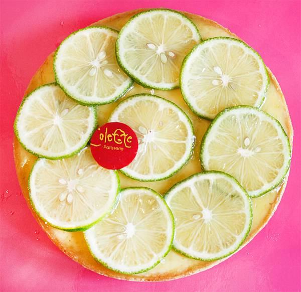 綠翡翠檸檬塔