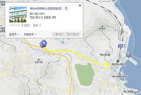 yeosu terminal map
