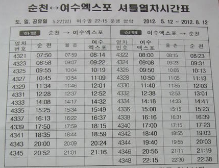 suncheon expo free train 01
