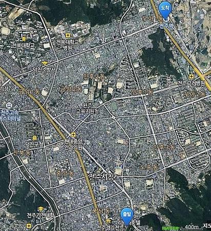 jeonju map