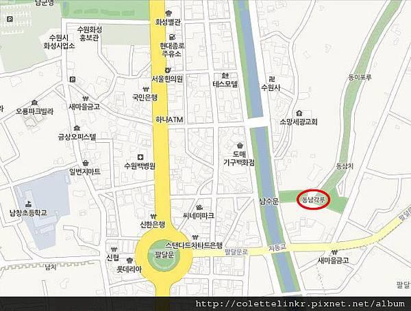 水原華城入口map done