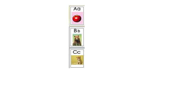 英文字卡-Apple