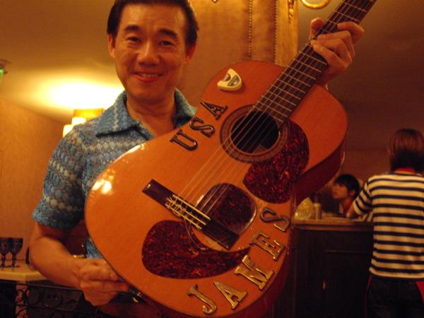 吉他超強的James