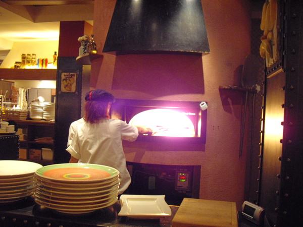 烤披薩的地方