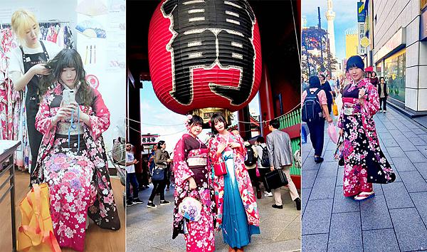 行程推薦。東京淺草寺和服散策+必讀!!平價攻略