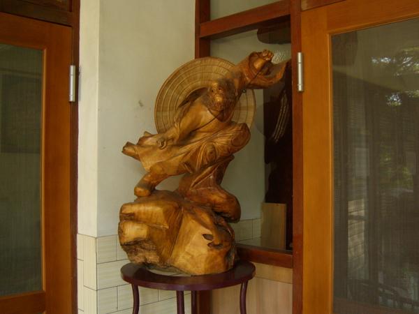 墊內的雕刻