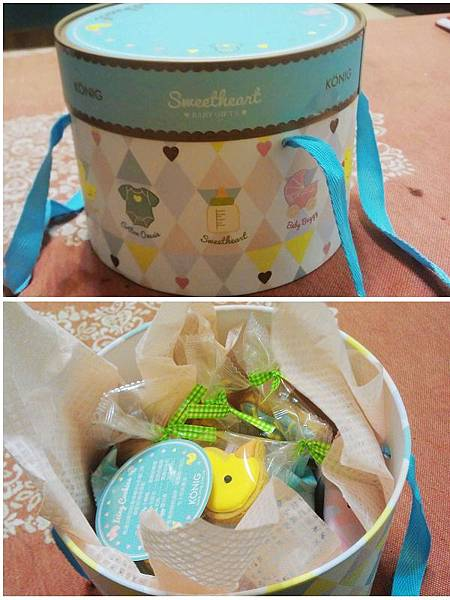 金格美式糖霜餅乾彌月禮盒