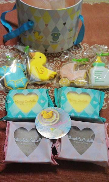 金格美式糖霜餅乾彌月禮盒3