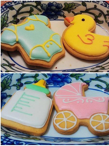 金格美式糖霜餅乾彌月禮盒7