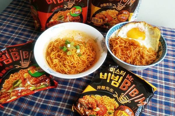韓國農心MR.BBM拌麵先生泡菜拌麵韓式辣炸雞風味拌麵.jpg