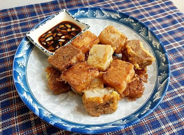 米果王手工蘿蔔糕港式臘味香菇素食麻辣椒香辣味起司21.jpg