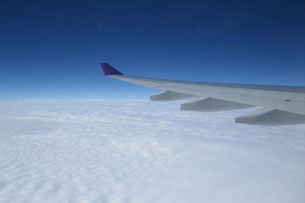 剛飛上天空創外景色