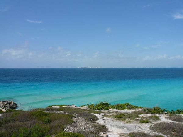 Isla Mujeres viewing Cancun.JPG