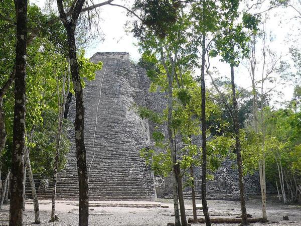 Nohoch Mul Pyramid.JPG