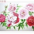 Prosperous Floral painting