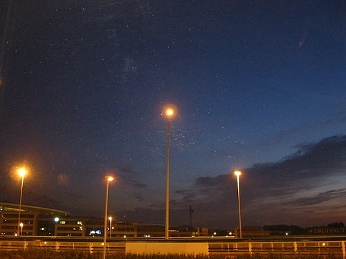 法國巴黎的星空(我在巴黎的最後一夜)