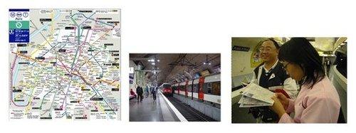 體驗巴黎百年地鐵