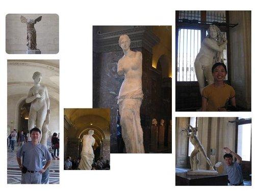 羅浮宮裡的雕塑~~維納斯