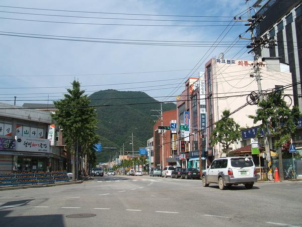 Inje街景,Korea