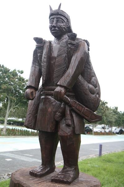 獵人雕像(台東史前博物館)