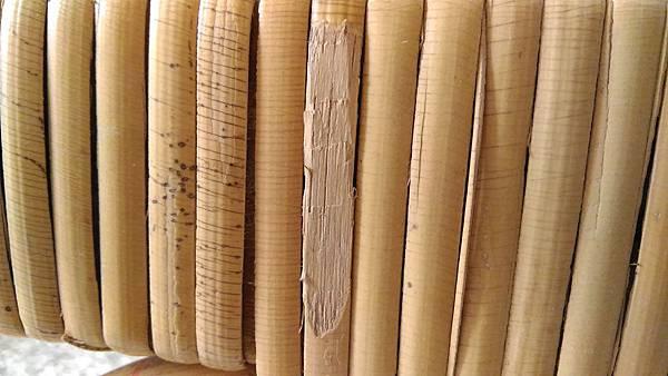 ( 藤椅 )藤製品  挑選購買時要特別注意的地方-裂痕/表皮健康度/纏繞密實度-09