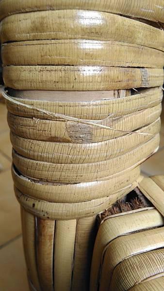 ( 藤椅 )藤製品  挑選購買時要特別注意的地方-裂痕/表皮健康度/纏繞密實度-10