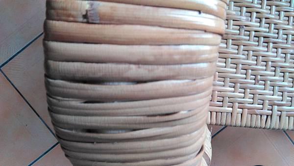 ( 藤椅 )藤製品  挑選購買時要特別注意的地方-裂痕/表皮健康度/纏繞密實度-11