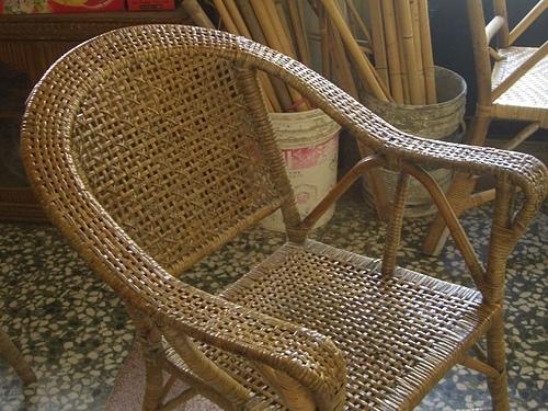 ( 藤椅 )藤製品  挑選購買時要特別注意的地方-裂痕/表皮健康度/纏繞密實度-a1