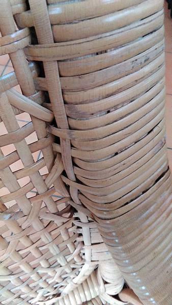 ( 藤椅 )藤製品  挑選購買時要特別注意的地方-裂痕/表皮健康度/纏繞密實度-16