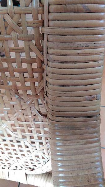 ( 藤椅 )藤製品  挑選購買時要特別注意的地方-裂痕/表皮健康度/纏繞密實度-18