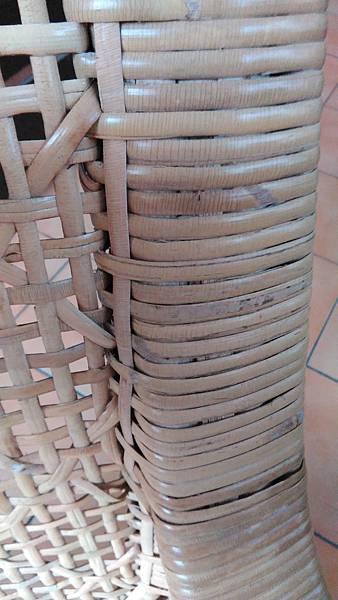 ( 藤椅 )藤製品  挑選購買時要特別注意的地方-裂痕/表皮健康度/纏繞密實度-15