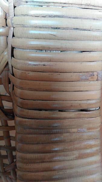 ( 藤椅 )藤製品  挑選購買時要特別注意的地方-裂痕/表皮健康度/纏繞密實度-17