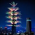 2018台北101新年大秀 府前廣場百萬人共同倒數迎新年(跨年倒數計時 煙火秀)