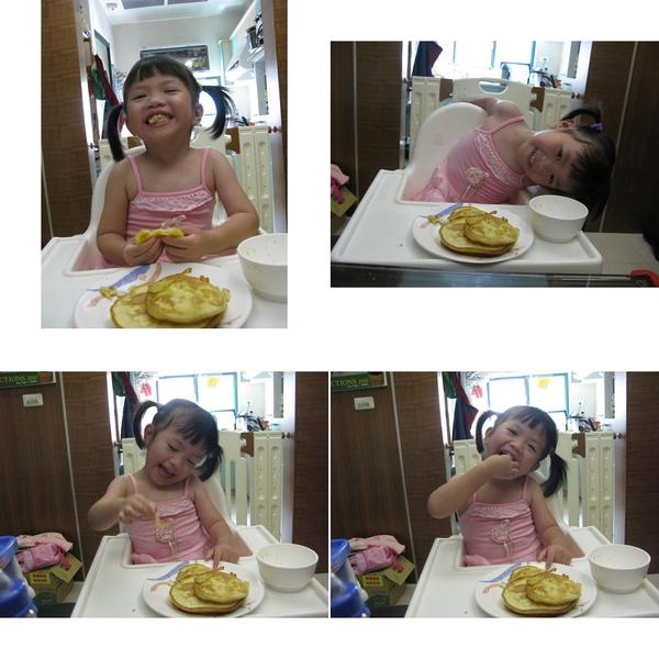 吃媽媽煎的鬆餅.jpg