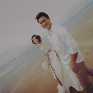 婚紗海報-油畫布-02
