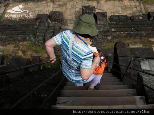 陡峭的階梯