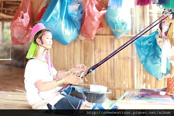 泰北少數民族村落長頸族