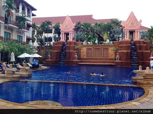 聖卡酒店泳池