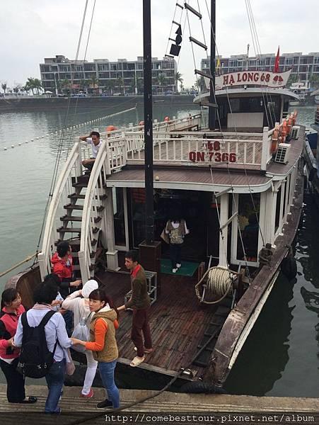 下龍灣VIP遊船