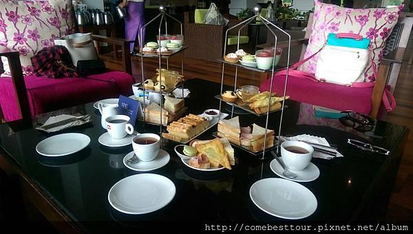 艾美酒店下午茶
