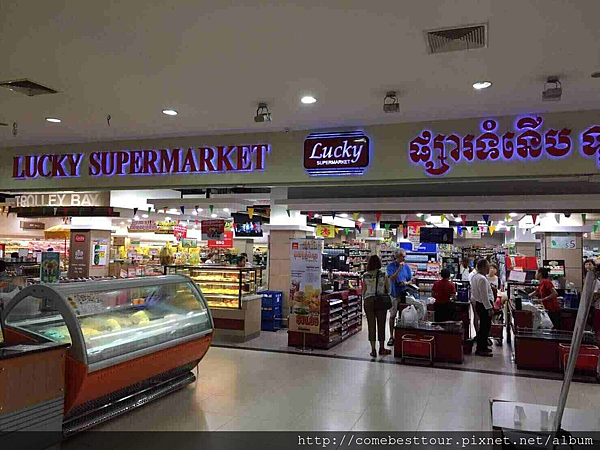 柬埔寨當地超市
