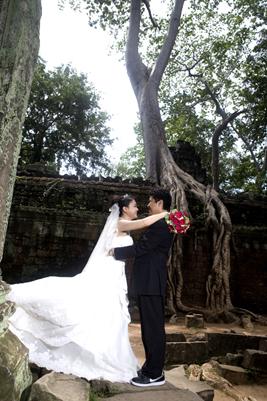 吳哥窟浪漫婚紗
