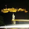 晚上的愛丁堡城堡