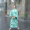 日本的街頭藝人